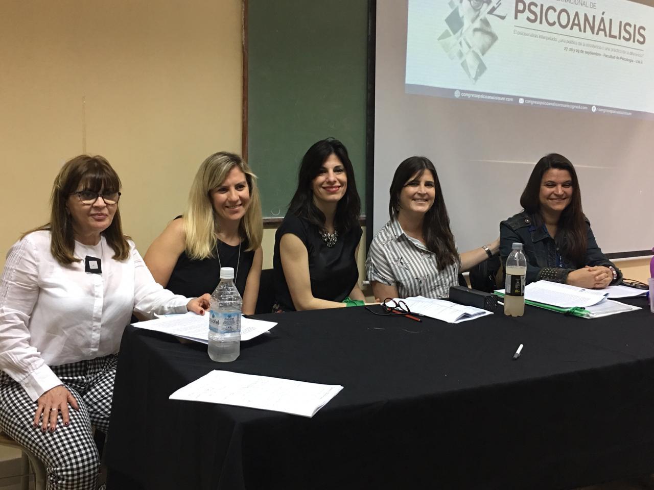 2do Congreso Internacional de Psicoanalisis de Rosario rodulfos Susana Lado y ponentes