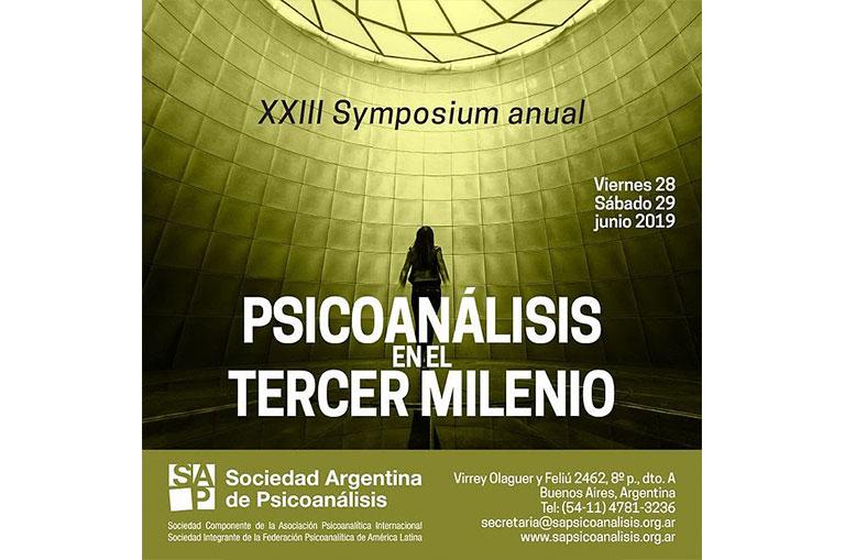 XXIII Symposium SAP. Noticias Psicoanalíticas de Rodulfos.com