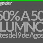 Rodulfos Bonificacion del 50% para 50 alumnos