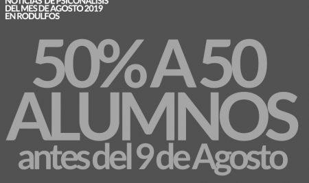 Seminarios de psicoanálisis on-line 2C 2019