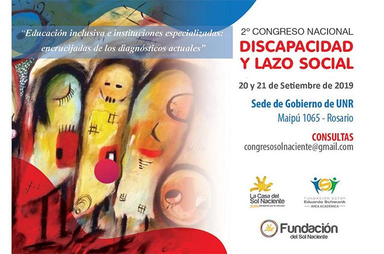 2do Congreso Nacional Discapacidad y Lazo Social - Rodulfos