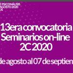 Seminarios Online 2C 2020 13era convocatoria 4