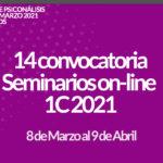 Seminarios Online 1C 2021 14ª convocatoria 3