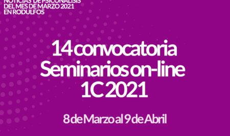 Seminarios Online 1C 2021 14ª convocatoria