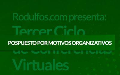 Tercer Ciclo de Conferencias Virtuales